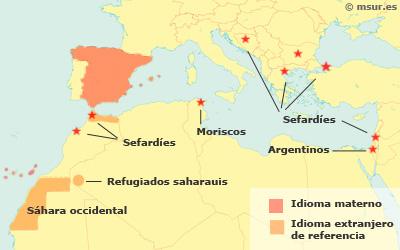 Castellano en el mundo: sefardíes, moriscos
