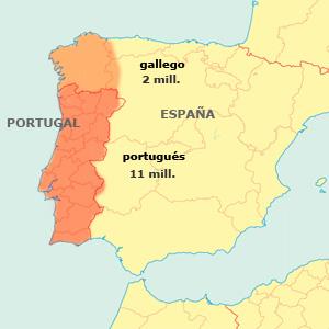 Portugués - Gallego. Difusión