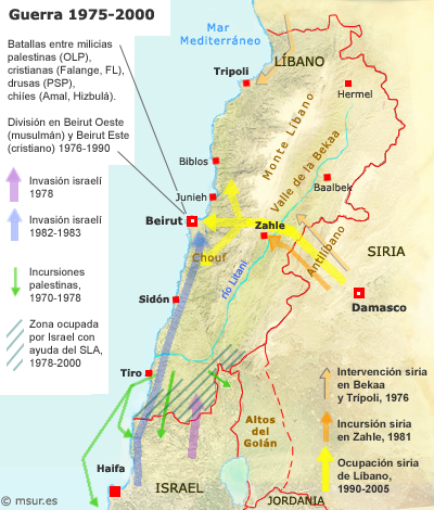 libano-1975-2000