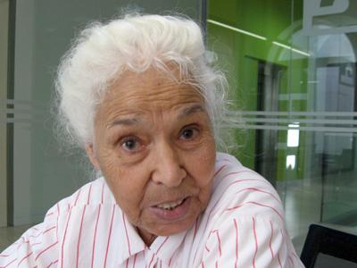 Nawal Saadawi (Madrid, 2008)|  | ©  Ilya U. Topper