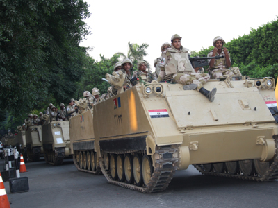 Desfile militar en El Cairo (Julio 2013)   | © Imane Rachidi / M'Sur