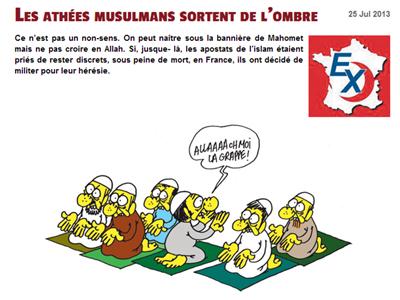 Artículo original en Charlie Hebdo, con ilustración de Charb
