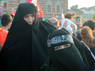 Mujeres con niqab en Estambul, 2013 | ©  I. U. T. / M'Sur