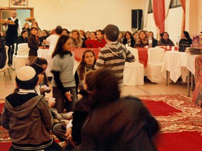 Familias judías marroquíes en Rabat |  © I. U. Topper