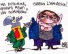 La amnesia de Berlusconi | © Gianni Allegra