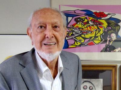 José María Castellet (Barcelona, 2012)   © Alejandro Luque/M'Sur