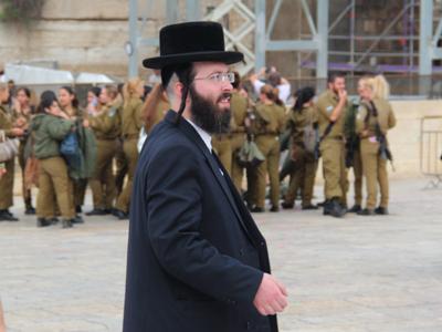 Un judía ultraortodoxo en Jerusalén (2013)    © Ilya U. Topper