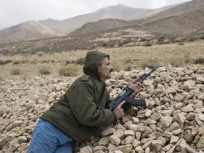 Retrato de Akel, militar retirado de patrulla en Ras Baalbek | ©  Diego Ibarra Sánchez
