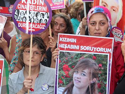 Manifestación contra la violencia machista (Estambul, Ago 2014) |  © Ilya U. Topper / M'Sur