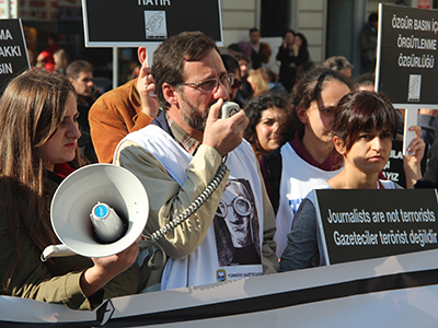 Marcha por la libertad de prensa (Estambul, 2013) |  © Ilya U. Topper / M'Sur