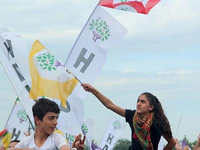Votantes del partido izquierdista HDP (Estambul, May 2015) |  © Ilya U. Topper/M'Sur