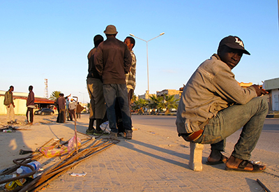 Inmigrantes en Zuara (Libia), Nov 2015 |  © Karlos Zurutuza