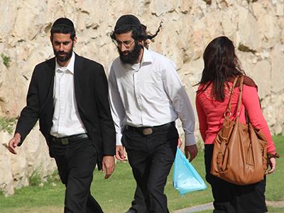 Judíos ortodoxos en Jerusalén (2013) | ©  Ilya U. Topper / M'Sur