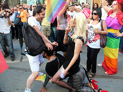 Marcha 'trans' en Estambul (2014) | © Ilya U. Topper / M'Sur