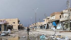 Ciudad devastada de Shadadi en Siria (Abril 2016) | ©  Darío Ibañez