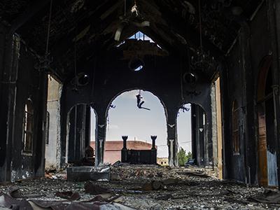 Iglesia de San Jorge en Qabr Shamiya (Hasaka, Siria). Abr 2016 | © Darío Ibañez