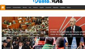 Portada de diario digital gülenista Punto de vista | Pantallazo