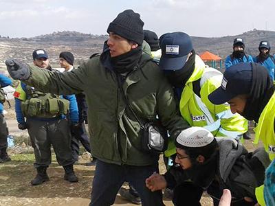 Desalojo de colonos judíos de Amona en Cisjordania (Feb 2017) | © Ana Alba