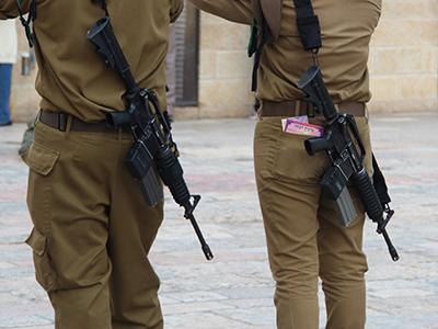Soldados en Jerusalén (2013) | © Ilya U. Topper / M'Sur
