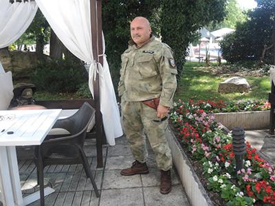 Vladimir Rusev en un hotel en Varna (Jun 2017) | © Núria Vilà