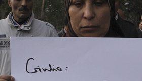 Manifestación en memoria de Giulio Regeni [El Cairo, Feb 2016] @ Alicia Alamillos