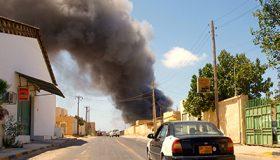 Carretera en Libia |  © Karlos Zurutuza
