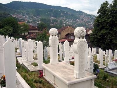 Cementerio musulmán en Sarajevo | © Rachel Avnery / Gush Shalom