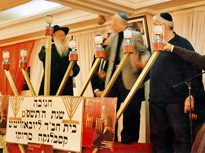 Judíos de Casablanca celebran la Janucá (2008) | © Ilya U. Topper / M'Sur