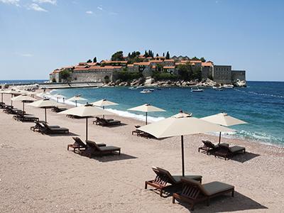 Playa en Montenegro |  © Andrés Mourenza