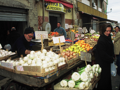Mercado en Sicilia |  ©  Darío Menor