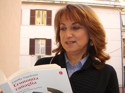 Loretta Napoleoni (Roma, 2008) |  ©  Darío Menor