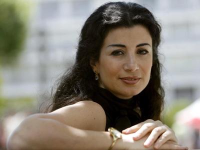 Joumana Haddad (Sevilla, 2009) |  | © Javier Cuesta / El Correo de Andalucía