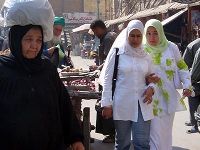 Mujeres en El Cairo (2006) |  © Eva Chaves