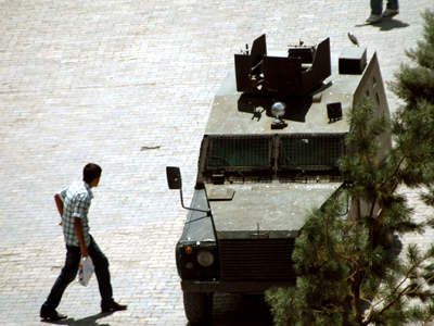 Blindado en Hakkari, Kurdistán turco (2010) |  © I. U. T.