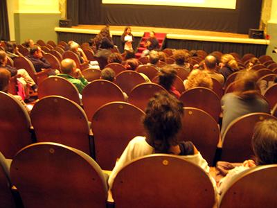 Sala de cine en Santiago de Compostela (2009) |   |  © Miriam Rodríguez / Amal