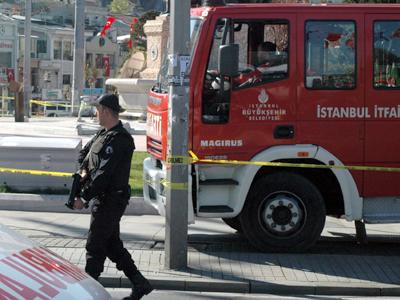 La policía acordona Taksim, tras el atentado de Nov 2011 | © I. U. T.