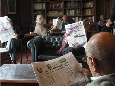 Club privado en El Cairo (2011) |  © Ángel Villarino