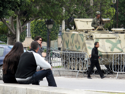 Jóvenes en Túnez (2011) | ©  Daniel Iriarte