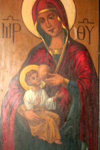 Fresco en una iglesia copta  |   ©  Eva Chaves