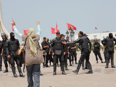 Manifestación en Túnez (Julio 2011)  | © Javier P. de la Cruz