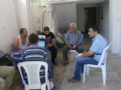 Reunión de activistas anti-Asad en el Monte Kurdo (Latakía); 2011 |   © Firas Birro