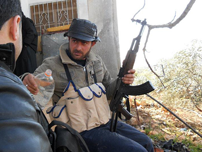 Rebeldes sirios en la zona de Idlib (Dic 2011)   © Daniel Iriarte