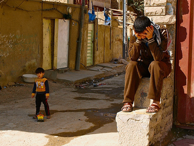 Niños en Sadr City (Bagdad; 2012) |  © K. Zurutuza