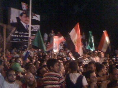Mitin electoral en El Cairo. May 2012  |  © Nuria Tesón/M'Sur