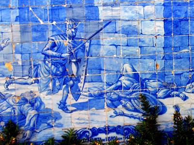 Cuadro de azulejos en Lisboa |  © Fifi Inglima