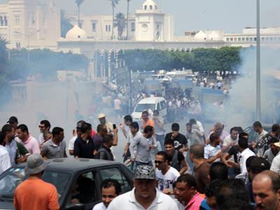 Protesta en Túnez (2012) | © J. P. de la Cruz