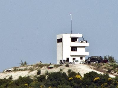 Posición del ejército sirio frente a Güvecci, Hatay (Jul 2011)  |  ©  Ilya U. Topper