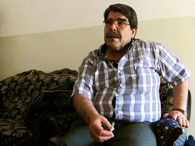 Salih Muslim (Kurdistán sirio, Agosto 2012)  | © Karlos Zurutuza