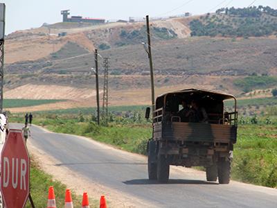 Patrulla turca en la frontera siria en Hatay (2012) | © Ilya U. Topper