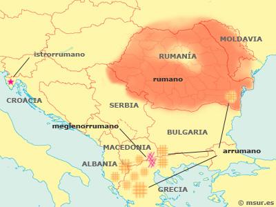 rumano, arrumano, megleno, moldavo